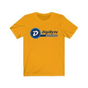DigiByte Blockchain Unisex Jersey Short Sleeve Tee