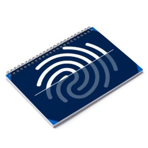 Digi-ID Spiral Notebook – Ruled Line