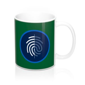 DigiByte/Digi-ID (GREEN) Mug 11oz