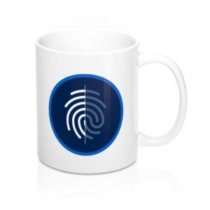 DigiByte/Digi-ID (WHITE) Mug 11oz
