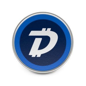 DigiByte Logo Metal Pin