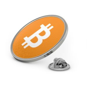 Bitcoin Metal Pin
