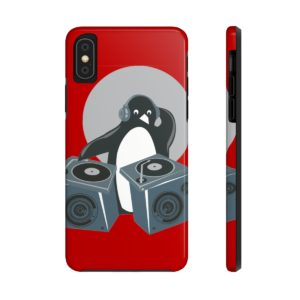 Penguin DJ Case Mate Tough Phone Cases