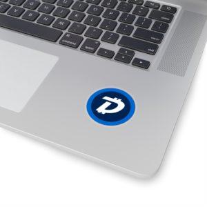 DigiByte Logo Kiss-Cut Stickers