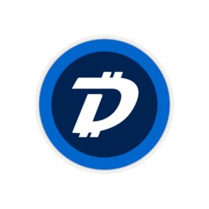 DigiByte Logo Kiss-Cut Stickers