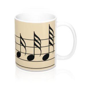 Music Accelerando Mug 11oz