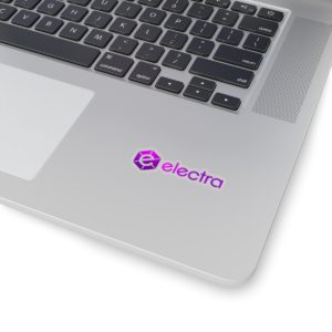 Electra Kiss-Cut Stickers