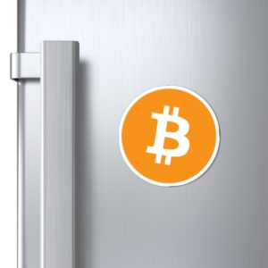 Bitcoin Logo Magnets