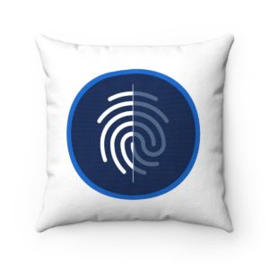 DigiByte / Digi-ID Spun Polyester Square Pillow