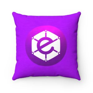 Electra Spun Polyester Square Pillow