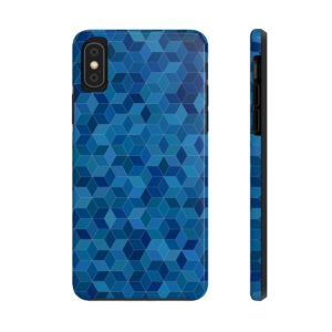 Blue Pattern Case Mate Tough Phone Cases