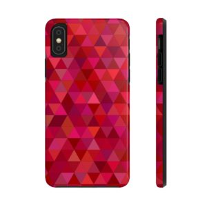 Maroon Pattern Case Mate Tough Phone Cases