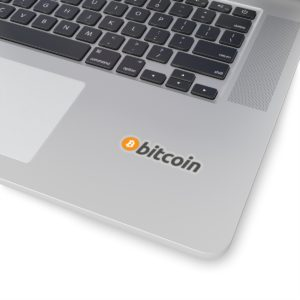 Bitcoin Kiss-Cut Stickers