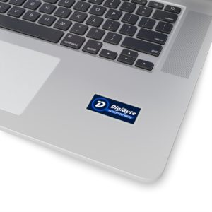 DigiByte Accepted Here Kiss-Cut Stickers
