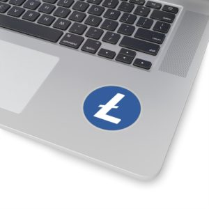 Litecoin Logo Kiss-Cut Stickers