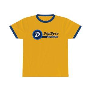 DigiByte Blockchain RETRO T-Shirt