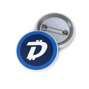 DigiByte Logo Pin Buttons