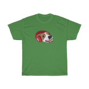 Dog With Headphones T-shirt