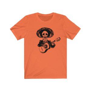 Skeleton w/ Guitar T-shirt
