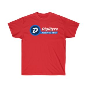 DigiByte Accepted Here T-shirt