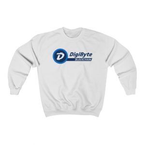 DigiByte Blockchain Long Sleeve Sweatshirt