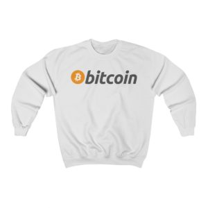 Bitcoin Long Sleeve Sweatshirt