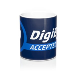 DigiByte Accepted Here Mug 11oz