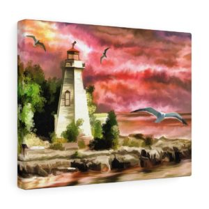 Lighthouse Canvas Gallery Wrap