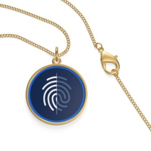 Digi-ID Single Loop Necklace
