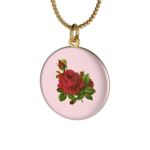 Rose Single Loop Necklace