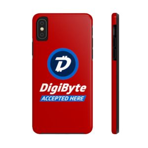 DigiByte Accepted Here (RED) Case Mate Tough Phone Cases