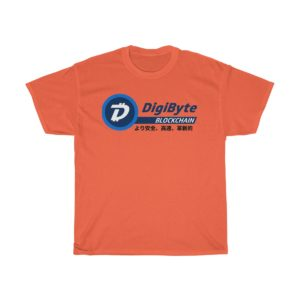 Japanese DigiByte Blockchain T-shirt