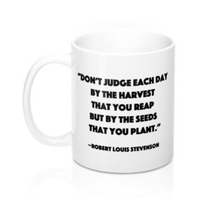 DGB 'Seeds' Quote Mug 11oz
