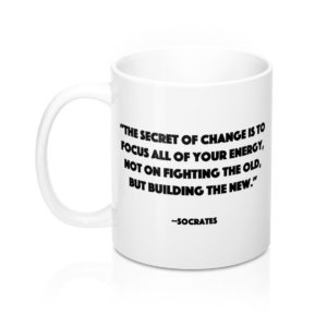 DGB 'Energy' Quote Mug 11oz