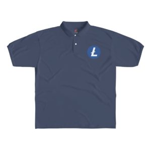 Litecoin Logo Men's Polo Shirt