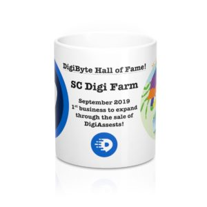 SC Digi Farm Commemorative Mug 11oz