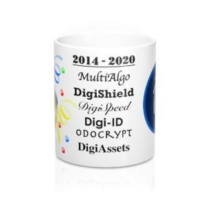 DigiByte 6th Anniversary Mug 11oz