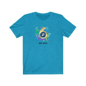 DigiByte 6th Anniversary T-shirt