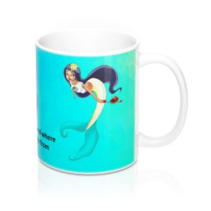 SC Digi Farm Mermaid Mug 11oz