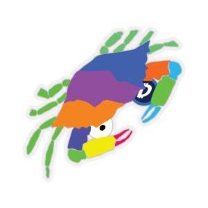 SC Digi Farm Crab Kiss-Cut Stickers