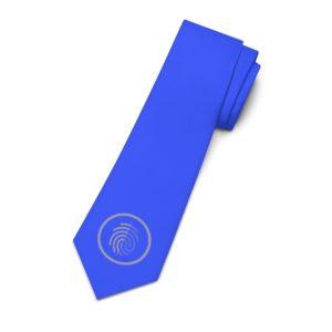 Digi-ID Logo (white) Necktie