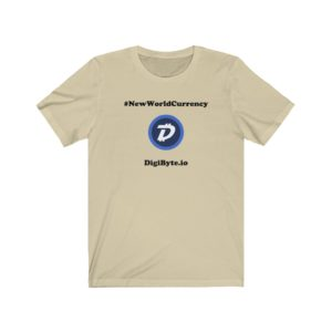 DGB 'New World Currency' T-shirt