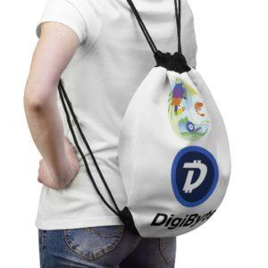 SC Digi Farm DigiByte Drawstring Bag