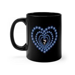 SC Digi Farm DGB Heart Black mug 11oz