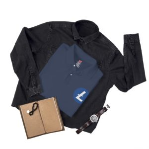 Litecoin Logo Men's Polo Shirt