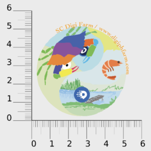 SC Farm Logo Sticker (PH)