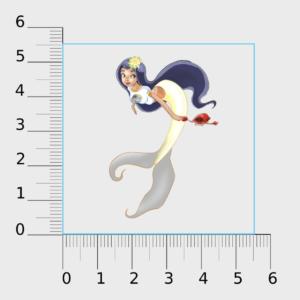 SC Farm Mermaid Sticker (PH)