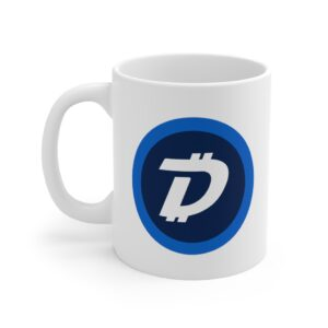 DigiByte/Digi-ID (WHITE) Mug 11oz