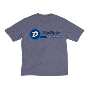 DigiByte Blockchain Men's Workout Shirt
