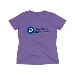 DigiByte Blockchain Women's Workout Shirt